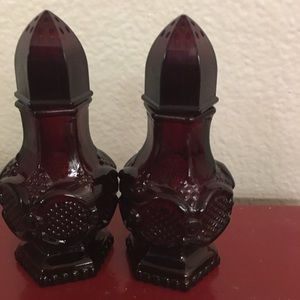 Vintage Cape Cod Avon Salt n Pepper Shakers